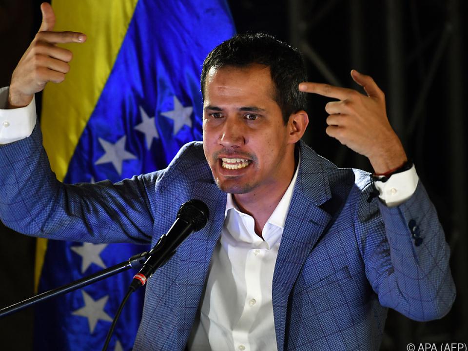 Guaidó geht voll auf Konfrontation