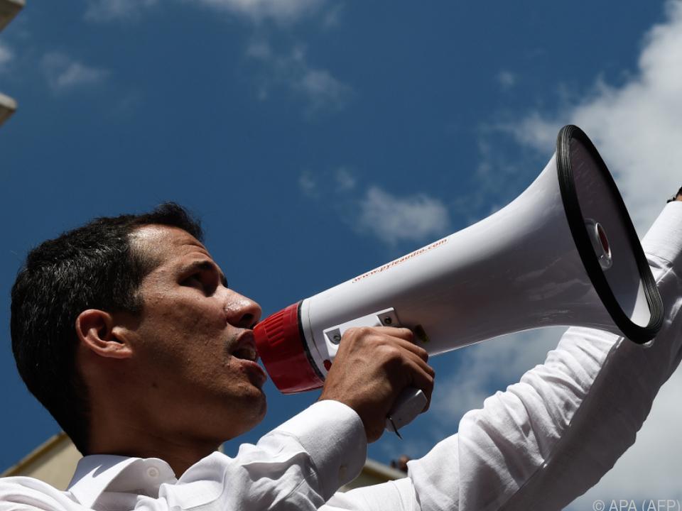 Guaido ruft zu Protesten auf