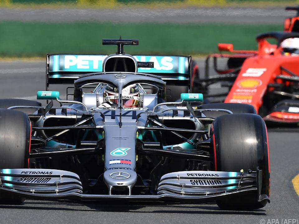 Hamilton schnappte sich die Pole