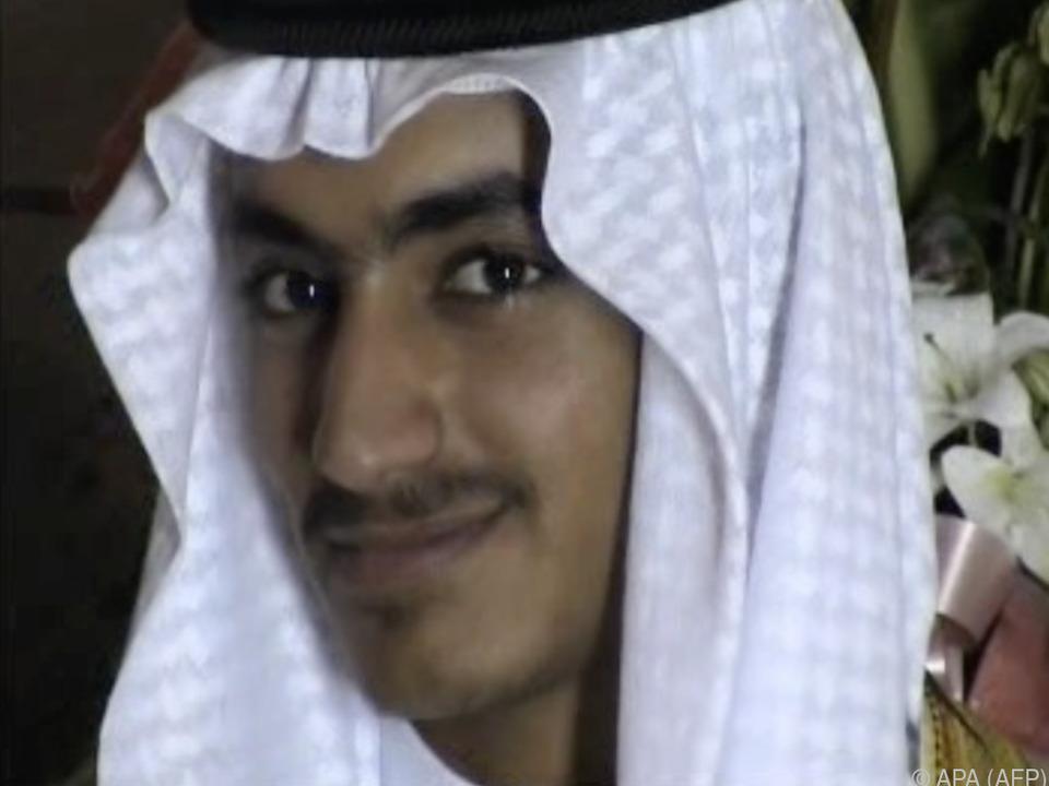 Hamsa bin Laden ist bereits seit 2017 auf der USA-Terrorliste