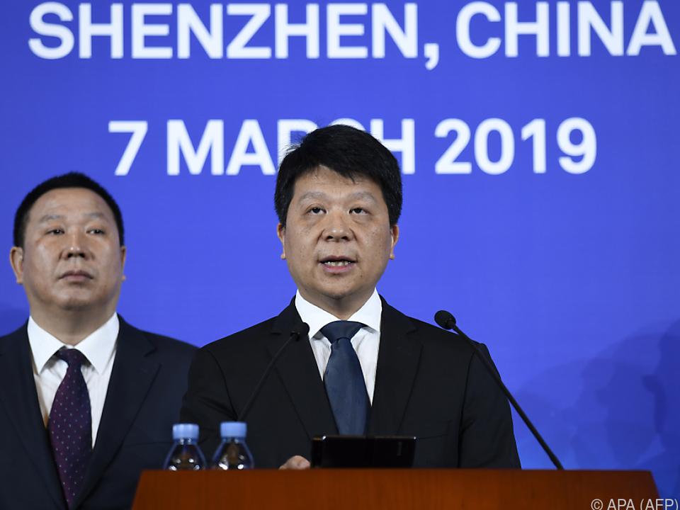 Huawei-Chef Guo Ping reichte Klage ein