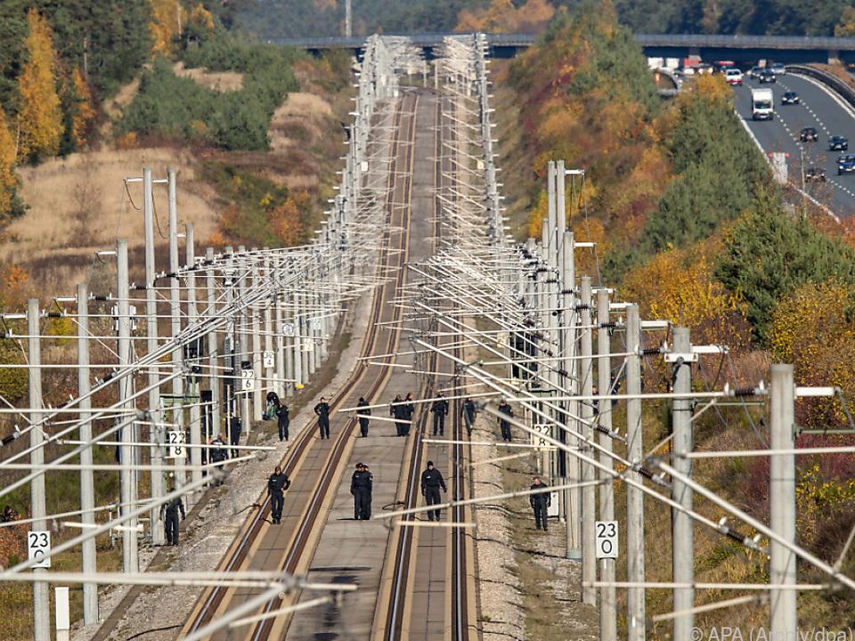 ICE-Strecke zwischen Nürnberg und München als Anschlagsziel