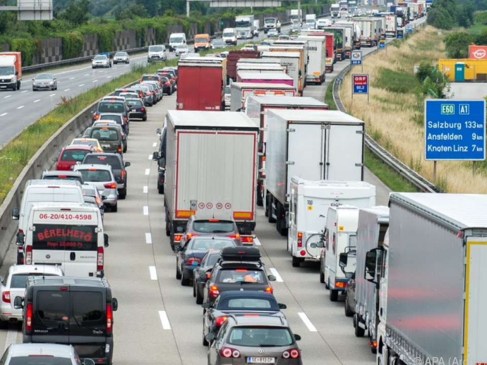 Immer mehr Lkw in Österreich unterwegs