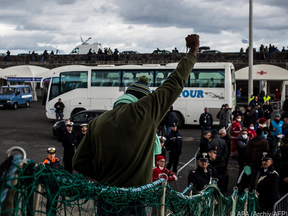 Immer weniger Migranten kommen nach Italien