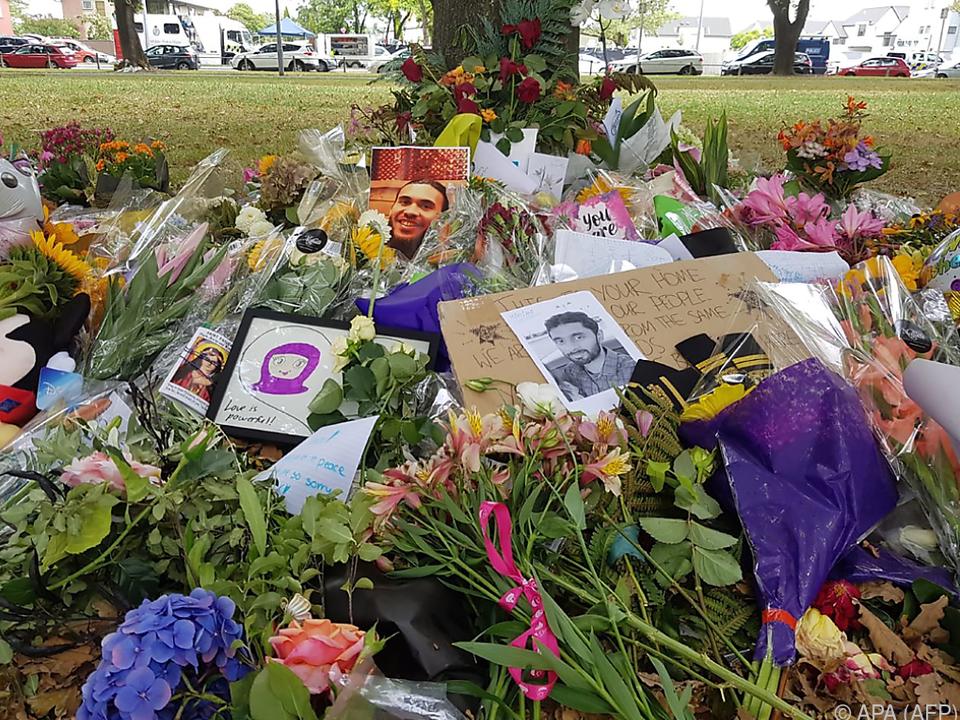 In Neuseeland regiert weiterhin Trauer um die Opfer