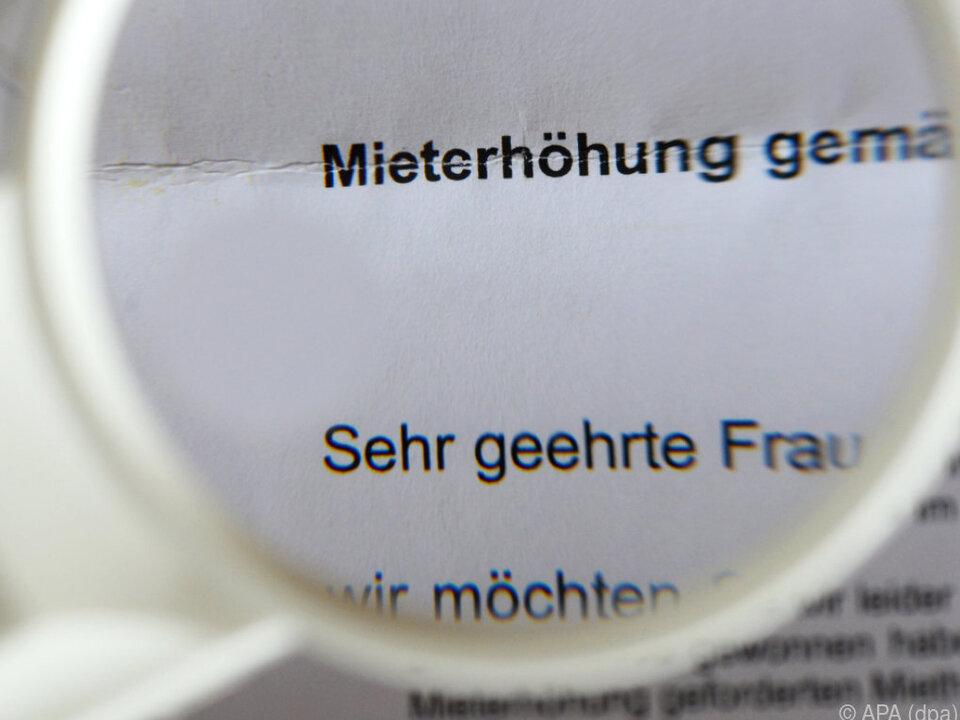 In Vorarlberg haben sich die Mieten deutlich erhöht