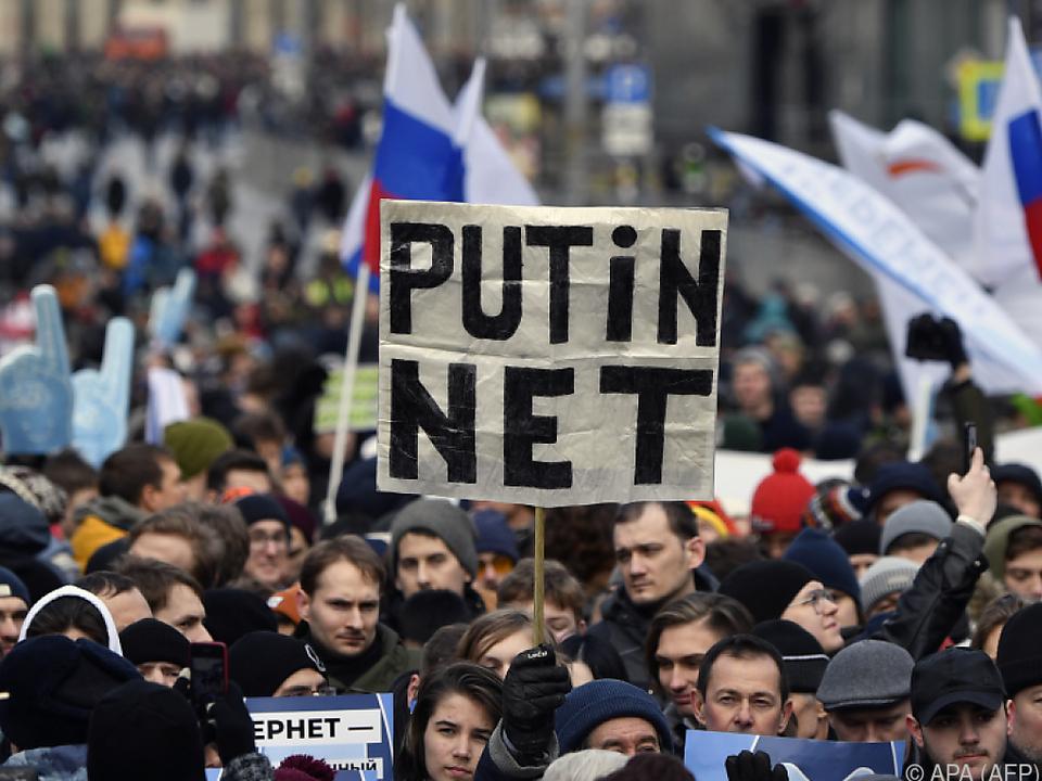 Insbesondere junge Menschen nahmen an den Protesten teil