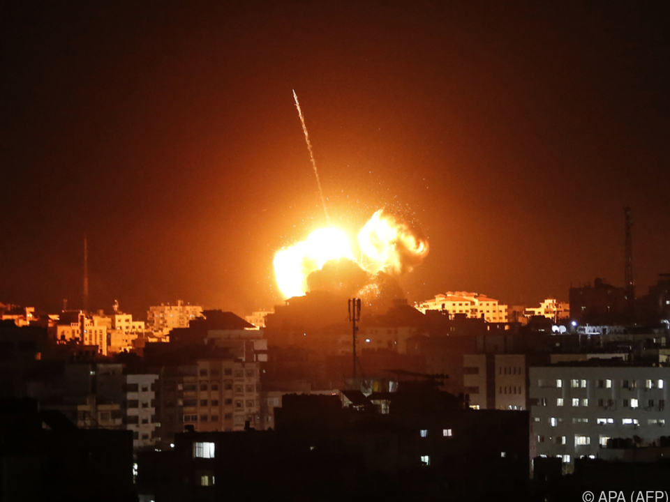 Israel führte einen Vergeltungsschlag aus