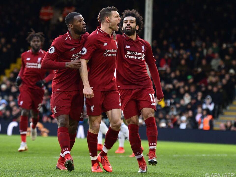 James Milner (m.) schoss Liverpool per Elfer zum Sieg