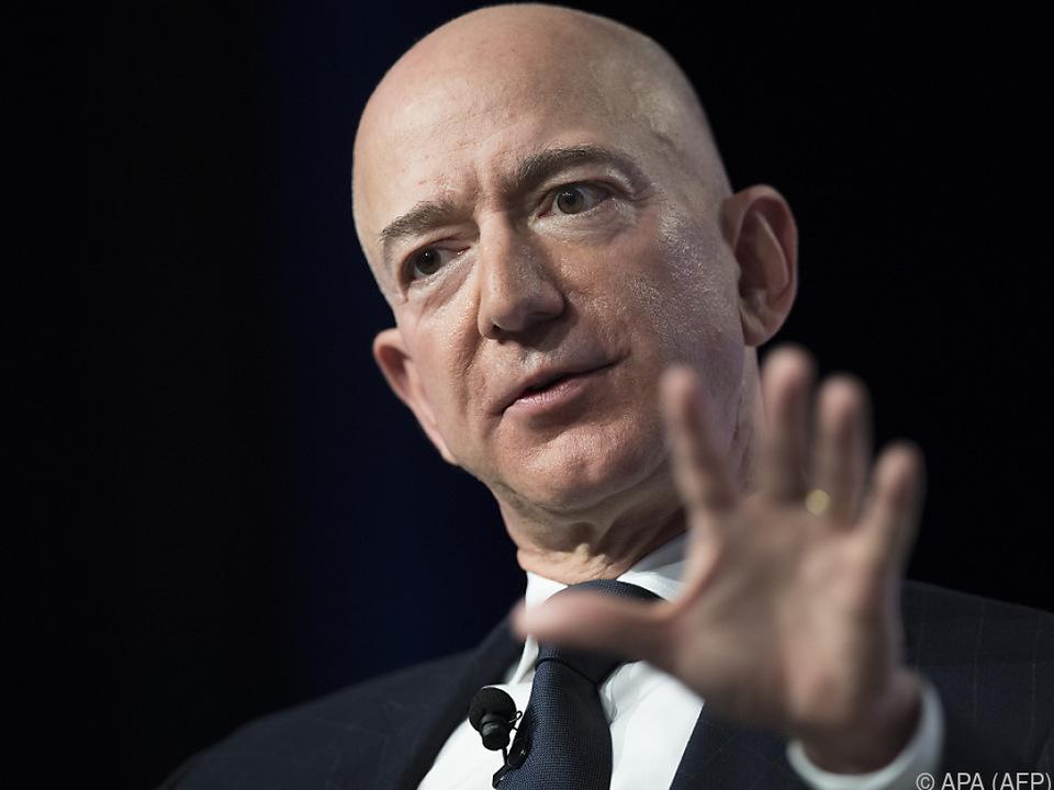 Jeff Bezos besitzt nun 131 Mrd. Dollar