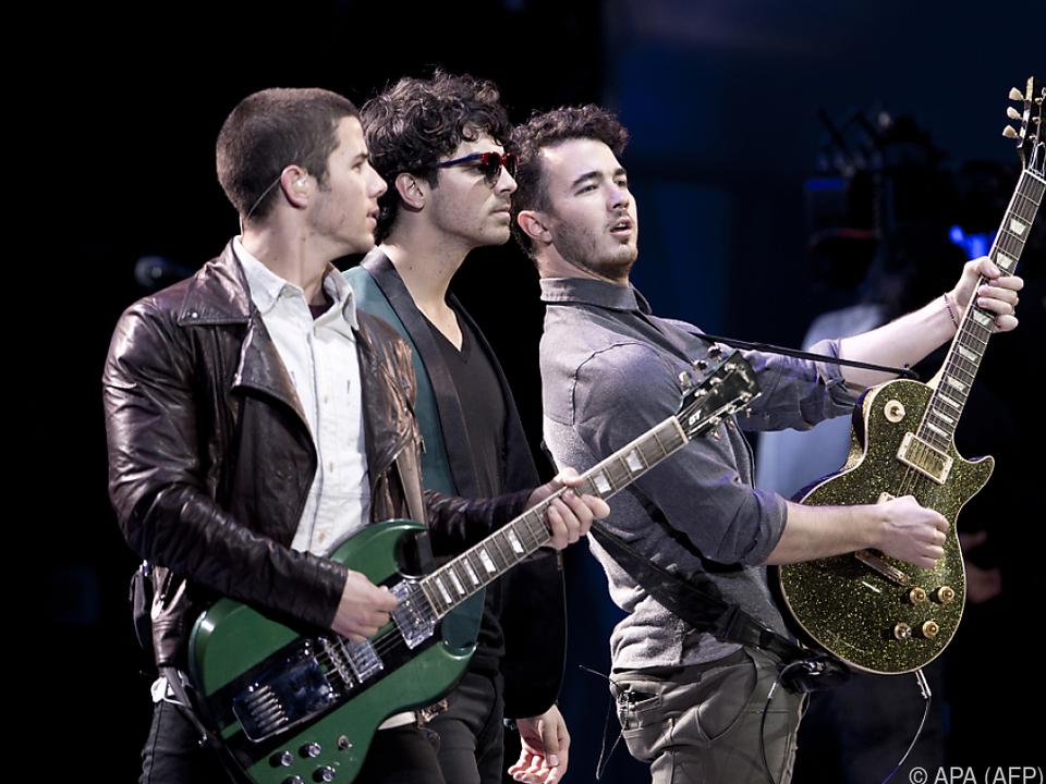 Jonas Brothers feiern mit \