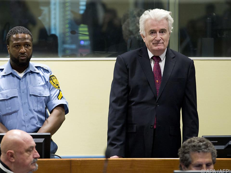 Karadzic\' Haftstrafe wurde sogar erhöht