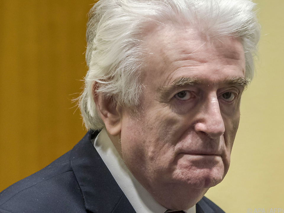 Karadzic spricht von \