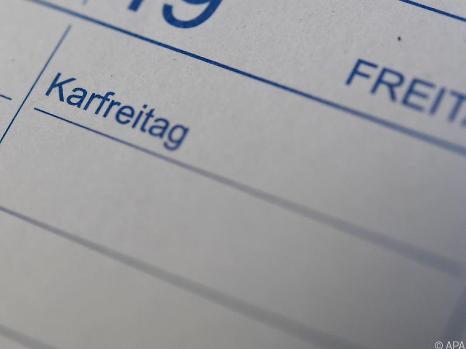 Karfreitag sorgt weiterhin für Aufregung