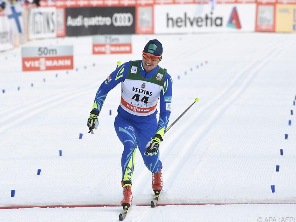 Kasachischer Skilangläufer Poltoranin steht unter Blutdopingverdacht