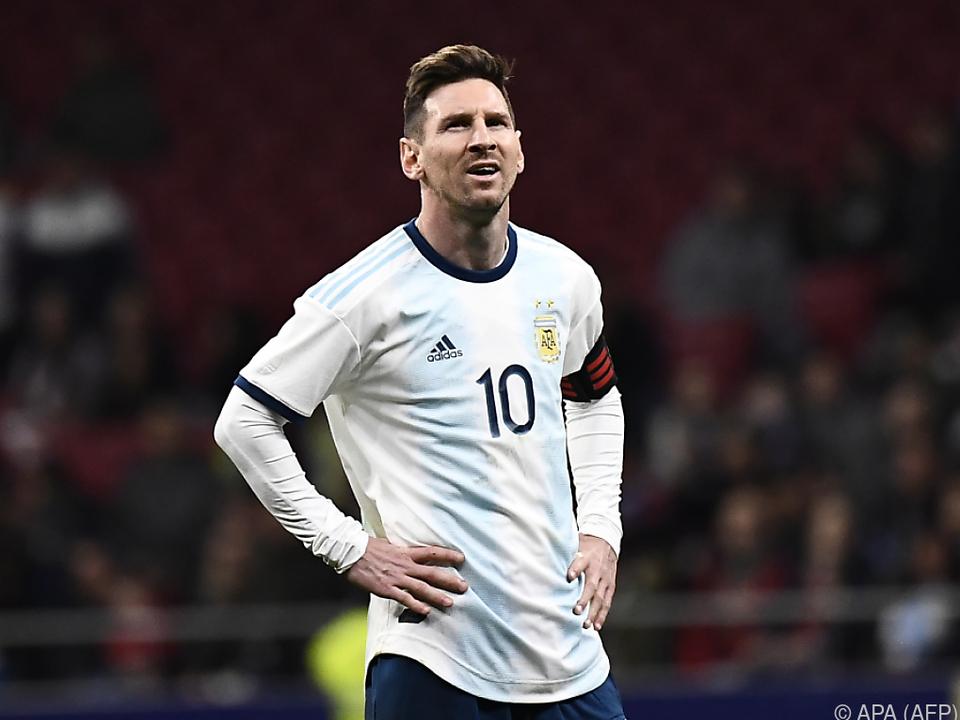 Kein schönes Comeback für Lionel Messi