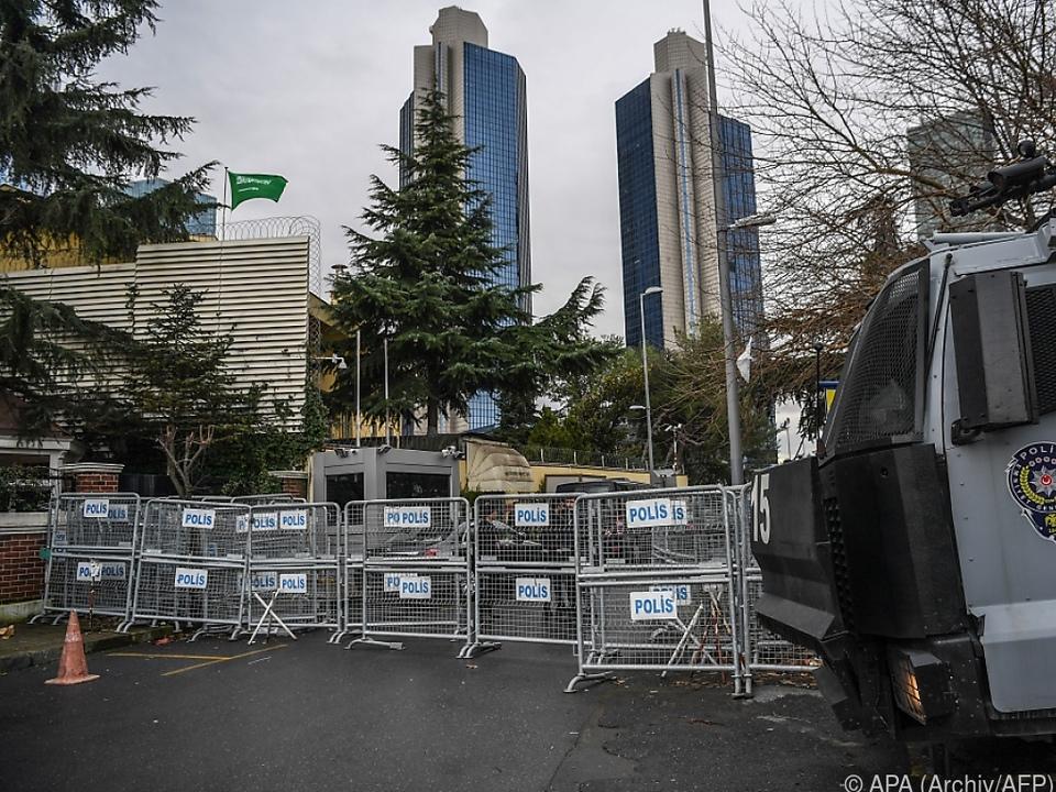 Khashoggi wurde im Konsulat Saudi-Arabiens in Istanbul ermordet