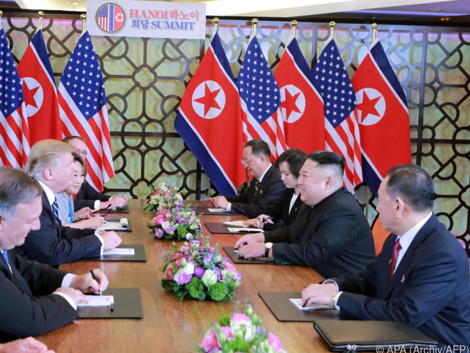 Kim will nicht vor den Forderungen der USA einknicken