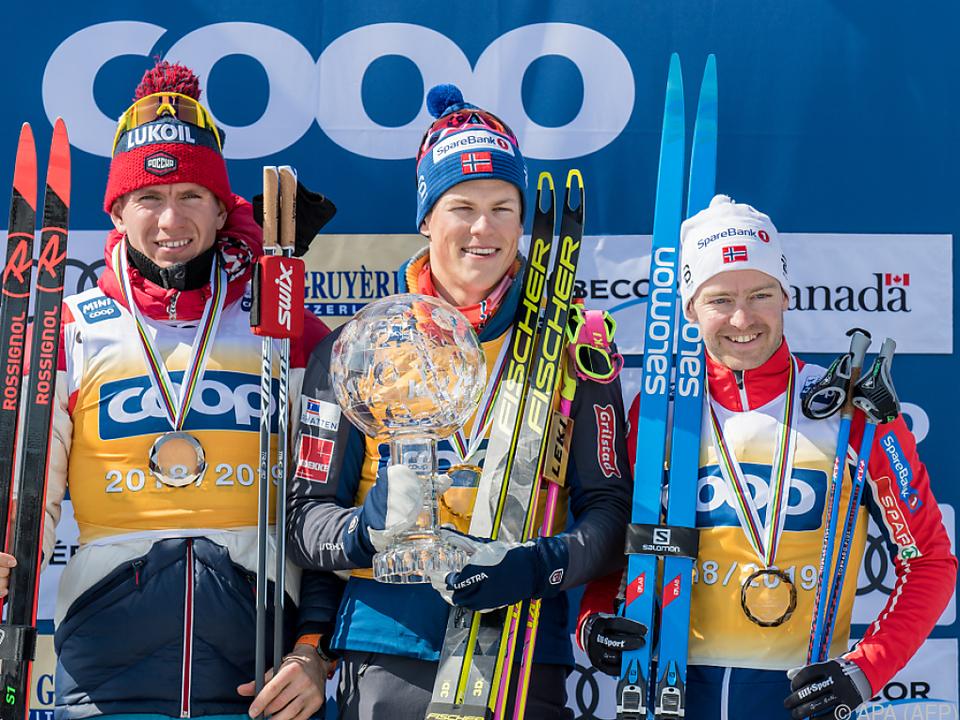 Kläbo verteidigte Gesamt-Weltcup-Titel aus dem Vorjahr
