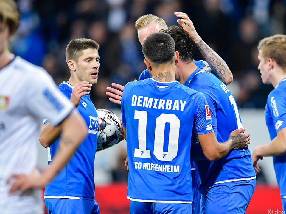 Klare Verhältnisse: Hoffenheim besiegte Bayer Leverkusen 4:1