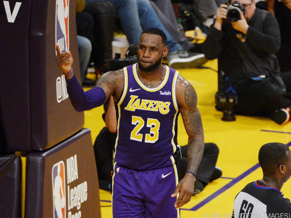LeBron James hat mehr Punkte in der NBA erreicht als Michael Jordan