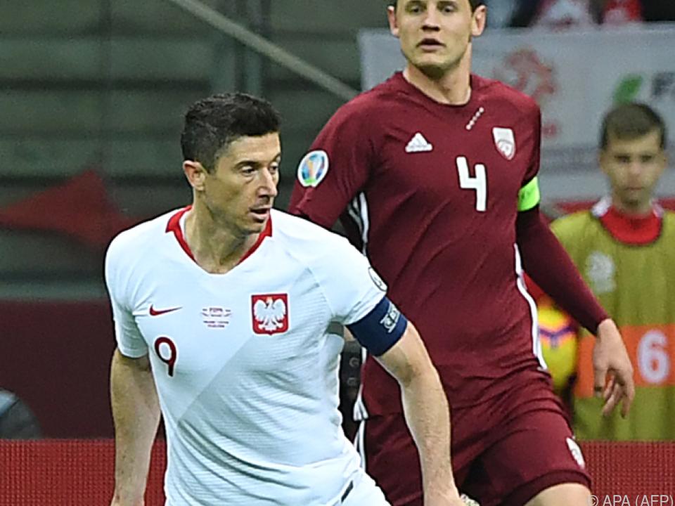 Lewandowski traf in Minute 76 zum 1:0