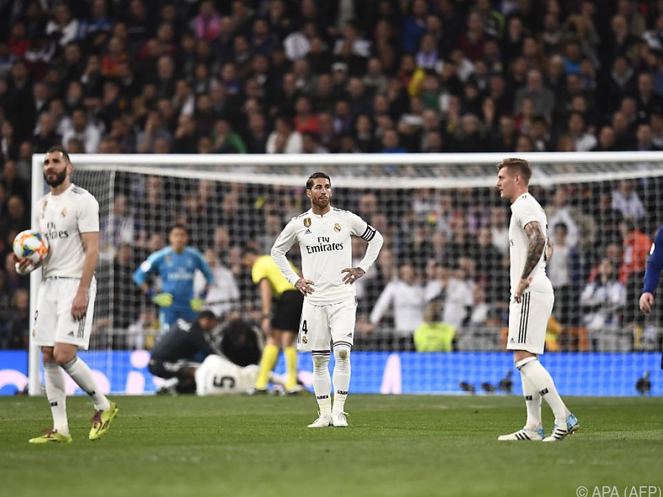 Madrid musste gegen Barcelona eine 0:3-Heimschlappe einstecken