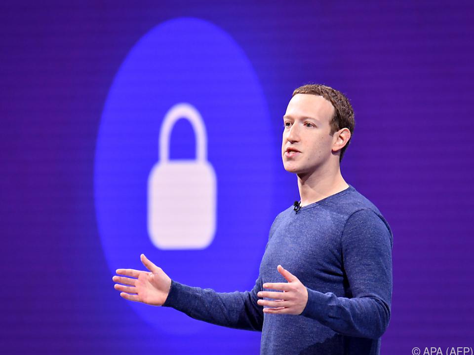 Mark Zuckerberg will mehr Angebote mit Komplett-Verschlüsselung anbieten