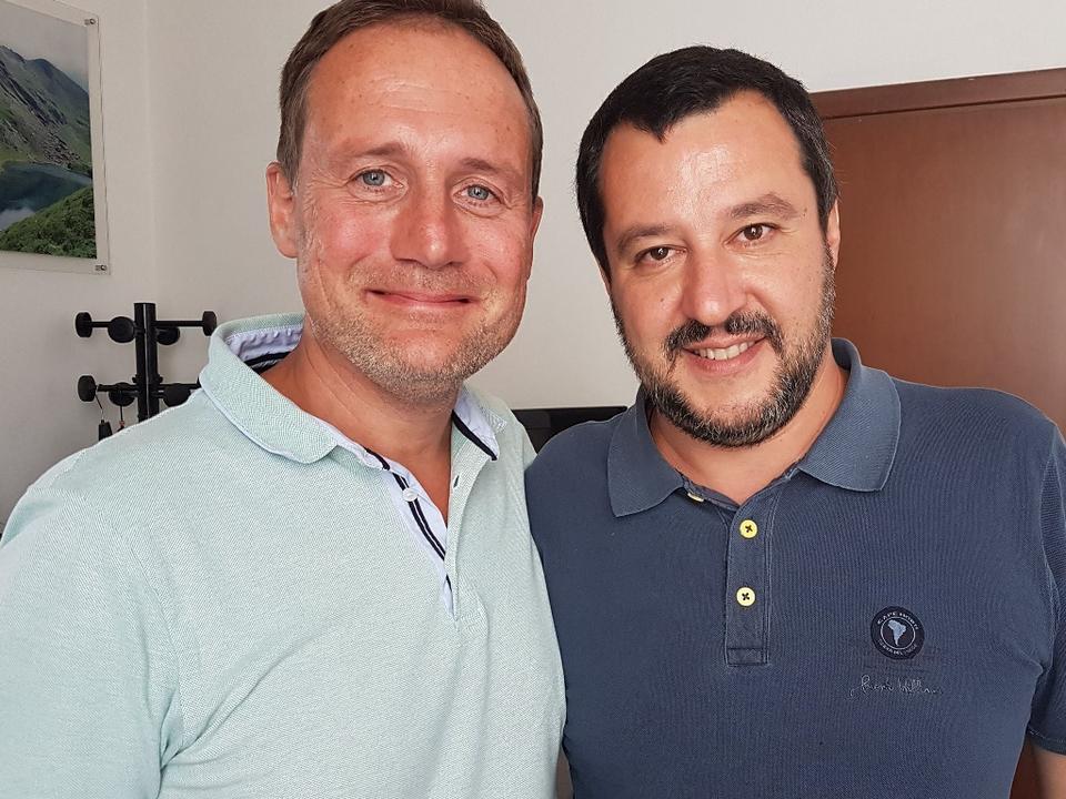 Massimo Bessone Matteo Salvini
