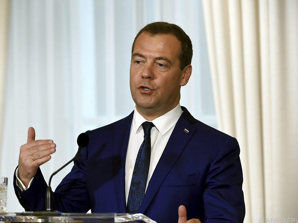 Medwedew nannte Bedingungen für neues Abkommen