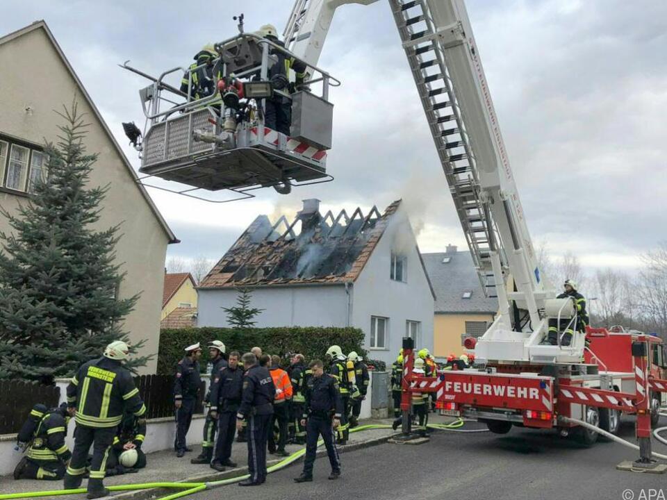 Mehrere Feuerwehren waren im Einsatz
