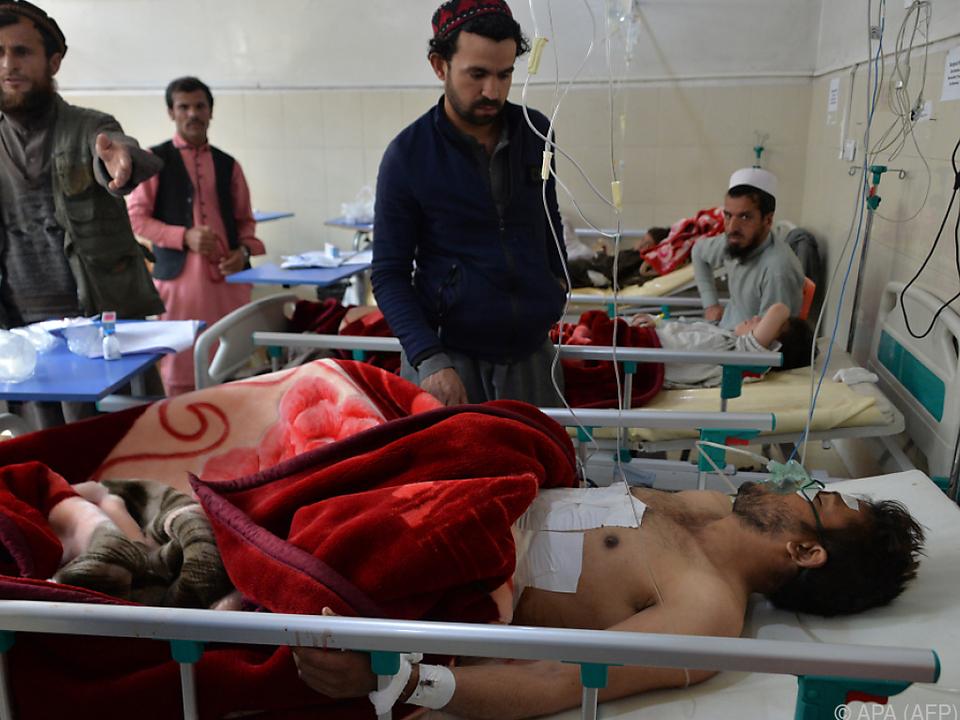 Mehrere Menschen wurden verletzt und ins Krankenhaus gebracht