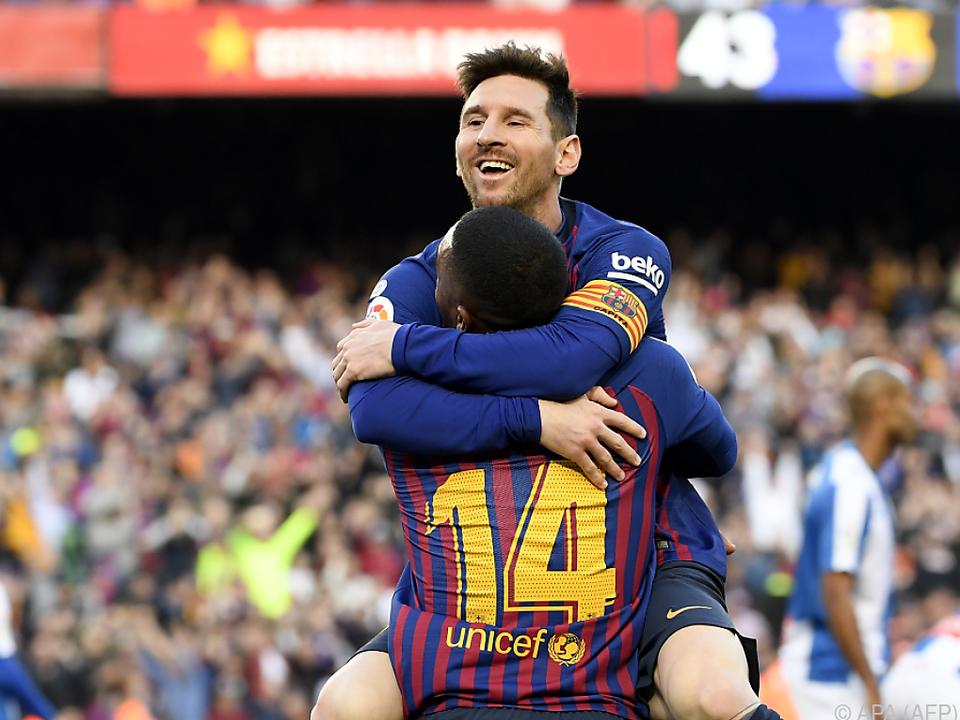Messi einmal mehr der Matchwinner