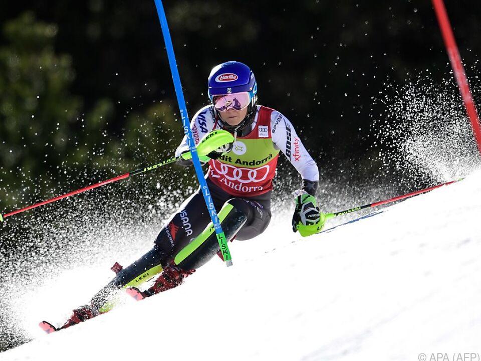 Mikaela Shiffrin überbot  ihren eigenen Saisonsieg-Rekord