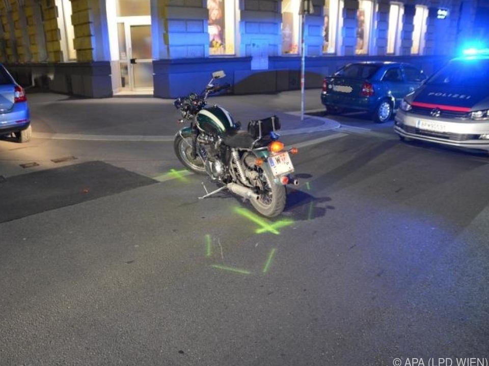 Motorradfahrer wurde schwer verletzt