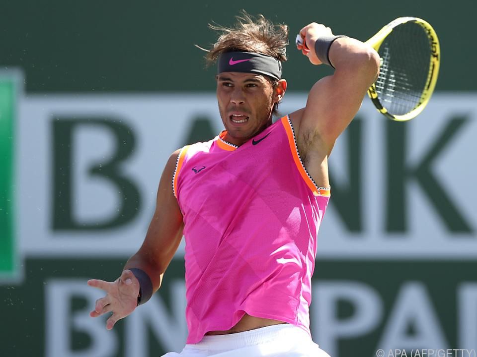 Nadal trifft auf seinen alten Rivalen
