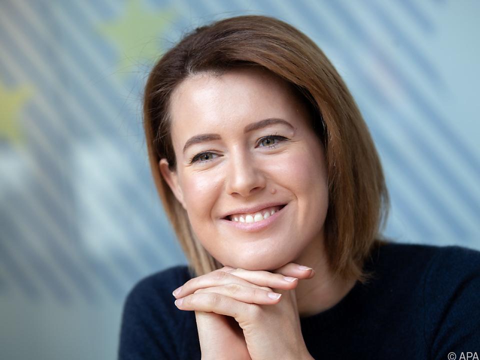 NEOS-EU-Spitzenkandidatin Claudia Gamon