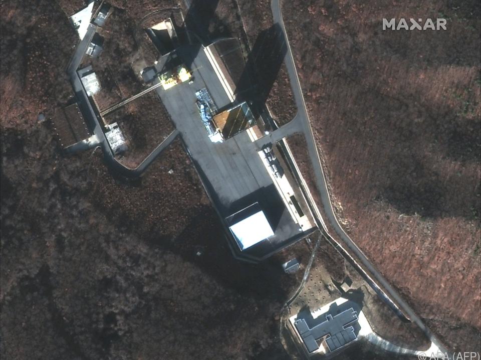Neue Aktivitäten in der Raketentestanlage in Sohae