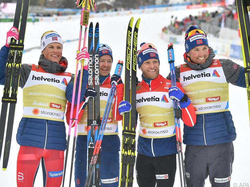 Norwegen im nordischen Skisport das Maß aller Dinge
