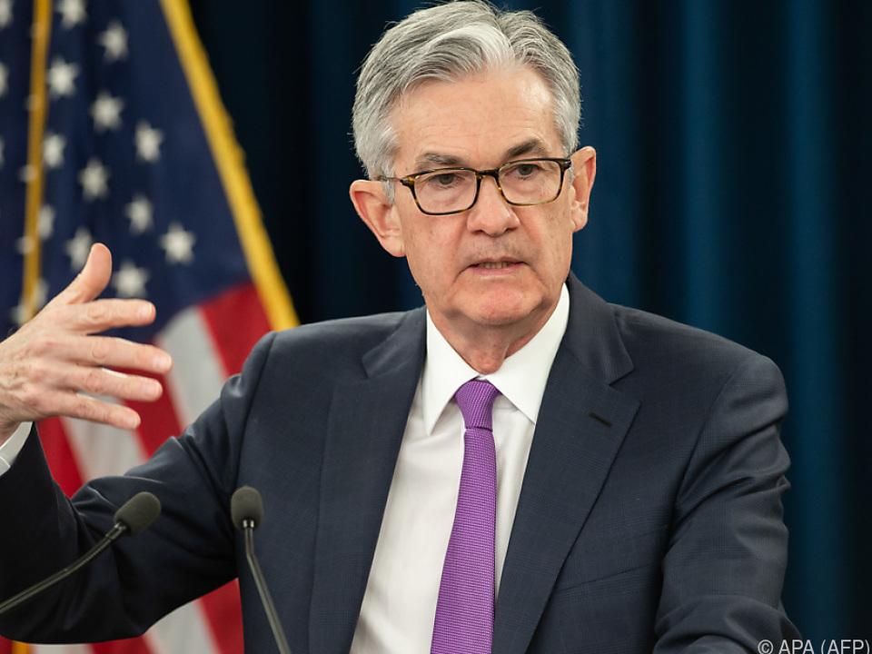 Notenbankchef Jerome Powell