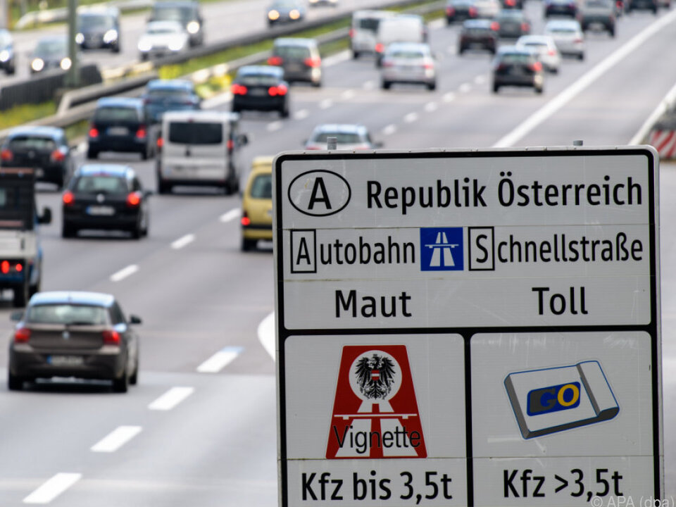 Österreich will Daten von Mautprellern aufheben