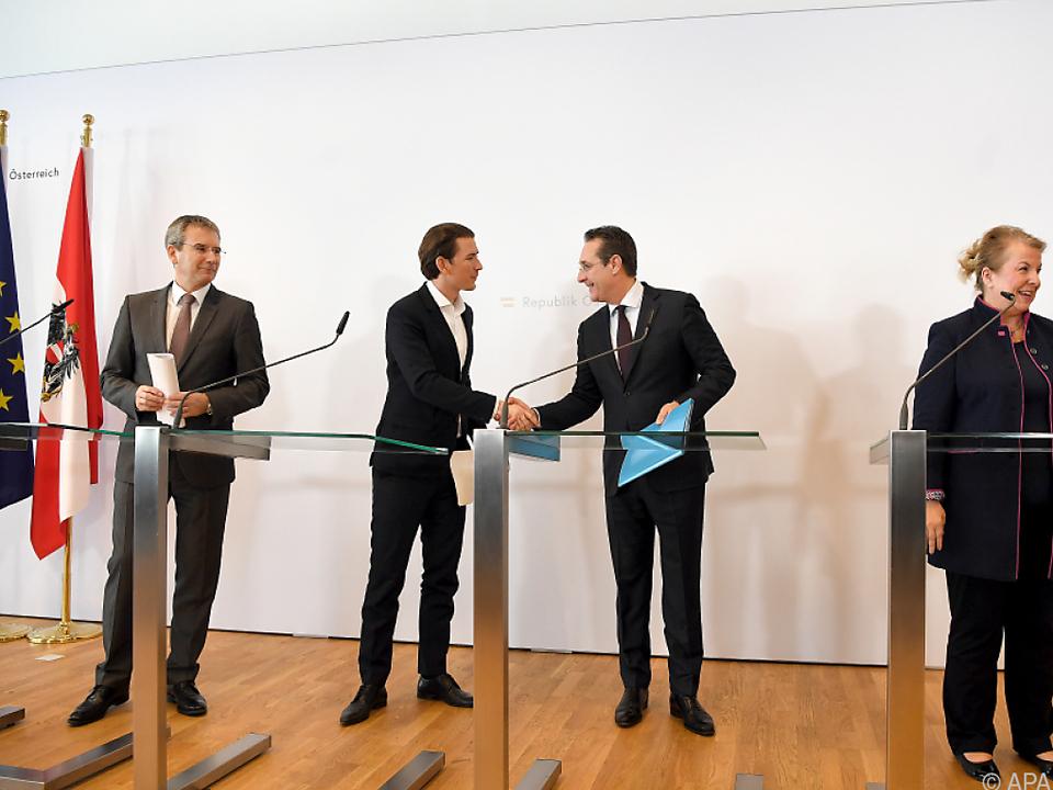 ÖVP und FPÖ bringen neue Parteienförderung durch