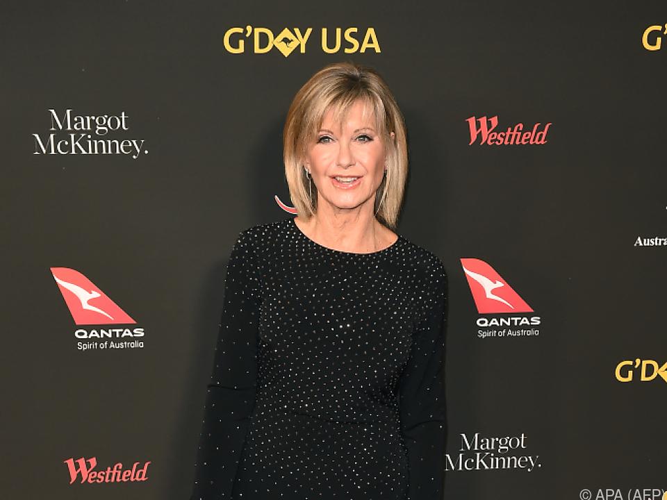 Olivia Newton-John kämpft gegen Krebs