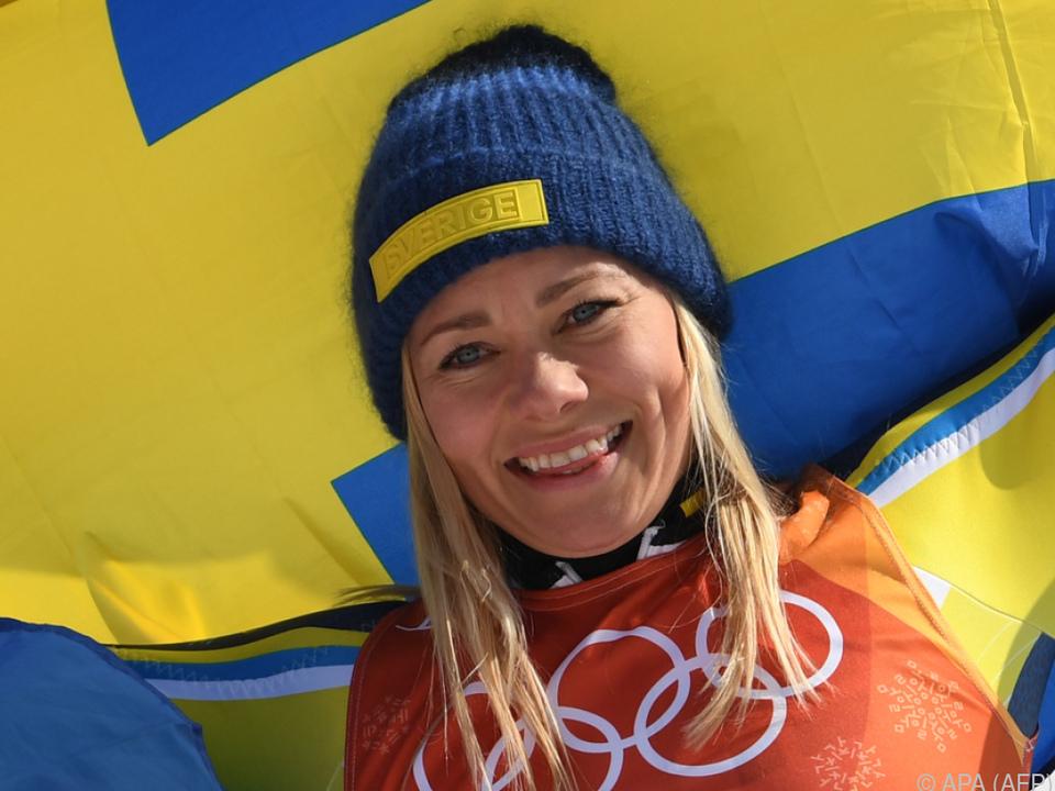 Olympiasiegerin Frida Hansdotter