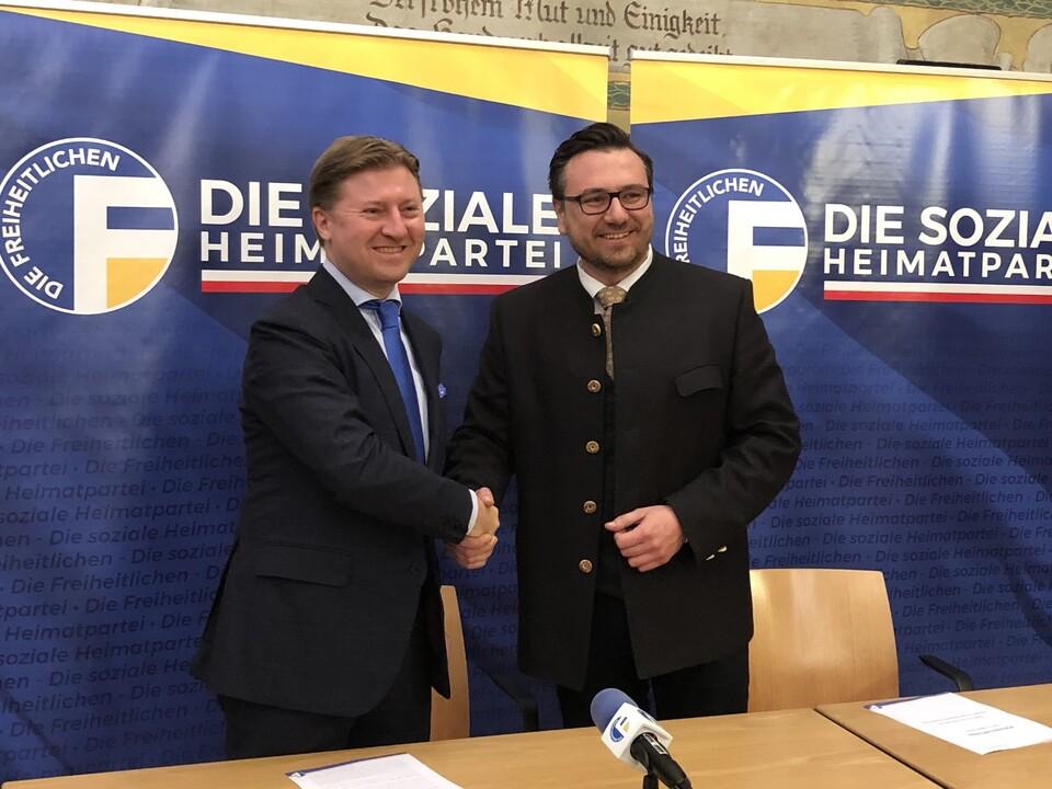 Otto Mahlknecht und Andreas Leiter Reber