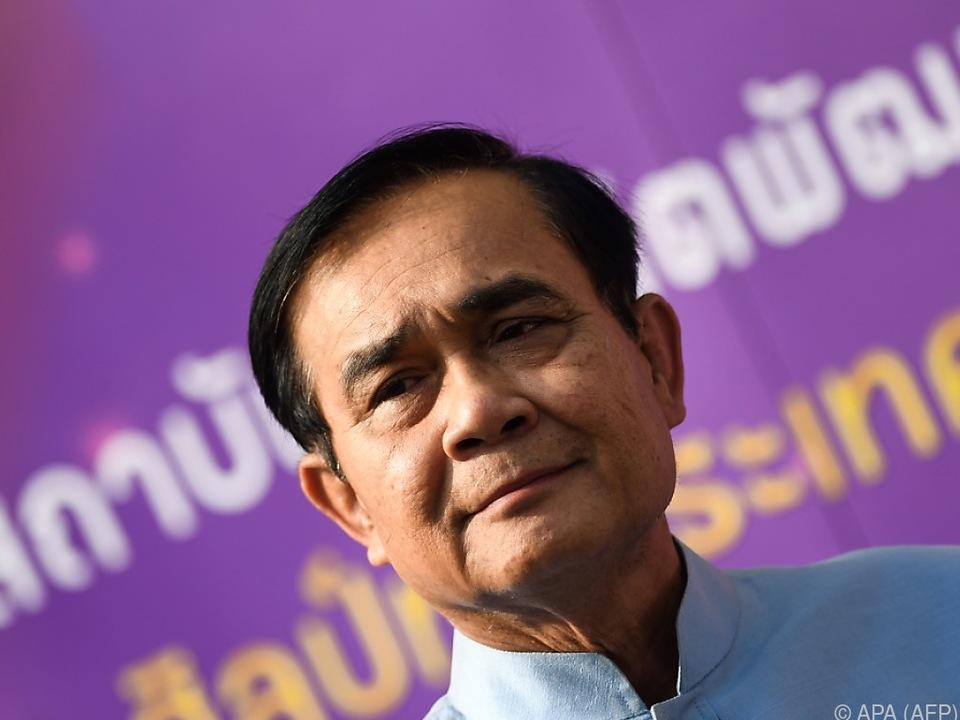 Prayut Chan-o-cha will als Premierminister im Amt bleiben