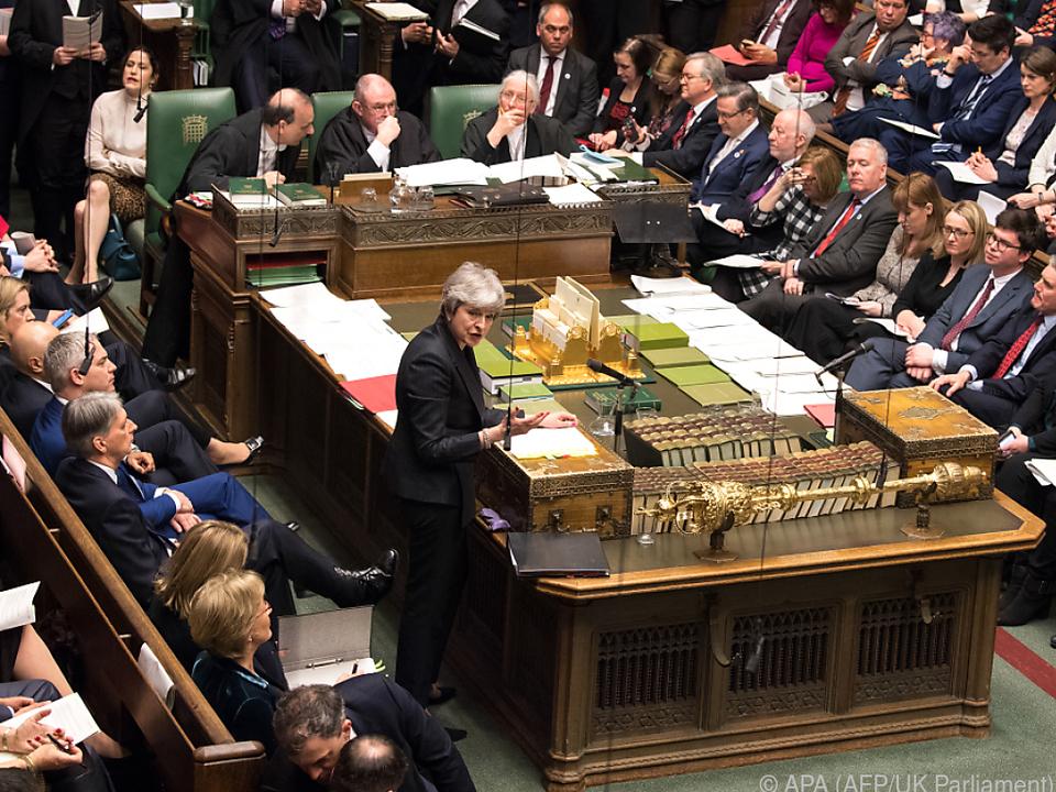 Premierministerin May fand bisher keine Parlamentsmehrheit