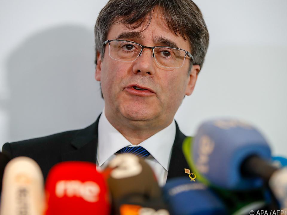Puigdemont befindet sich bereits in Brüssel
