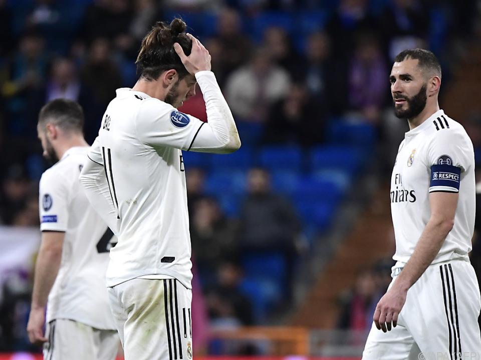 Ratlose Gesichter bei Real Madrid