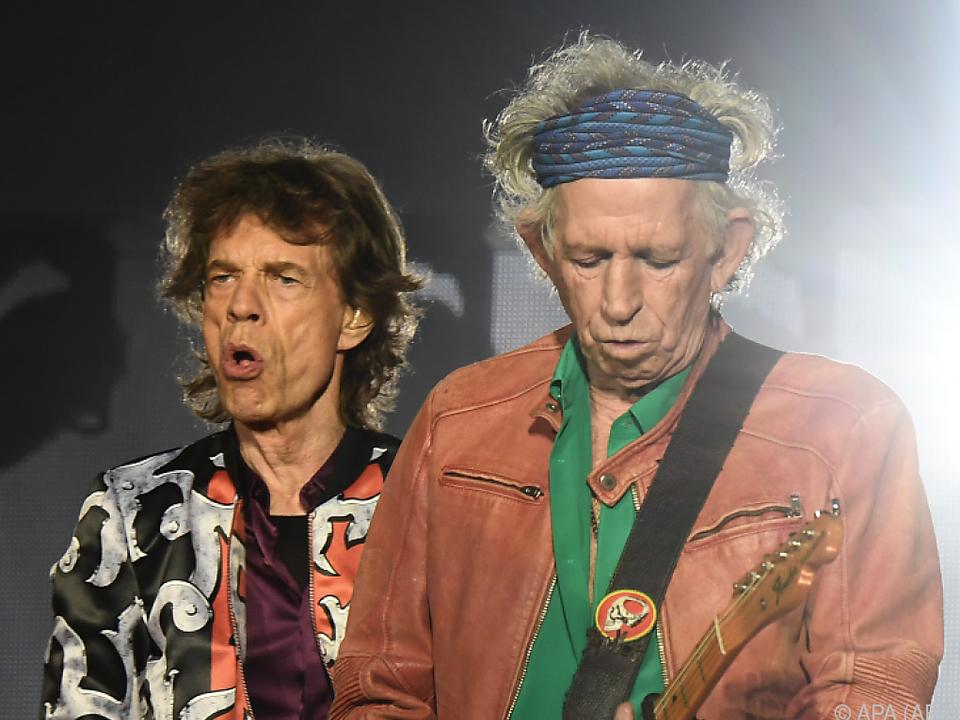 Rolling Stones standen immer wieder mal vor dem Aus